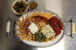 Cheese and Charcuterie Platter by Mark Bilbrey (Photo: Katharine Azzolini)